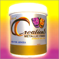 Interior Metallic Finish Paint