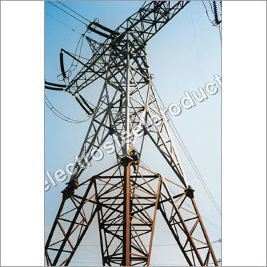 Overhead Power Transmission Tower