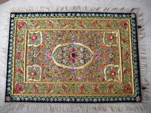 ZARI JEWEL CARPETS FROM MUGHAL EMPERORS