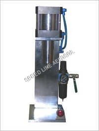 Aerosol De Crimping Machine