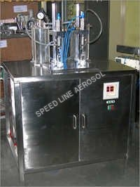 Perfume Aerosol Filling Machine