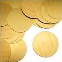 Brass Metal Circles