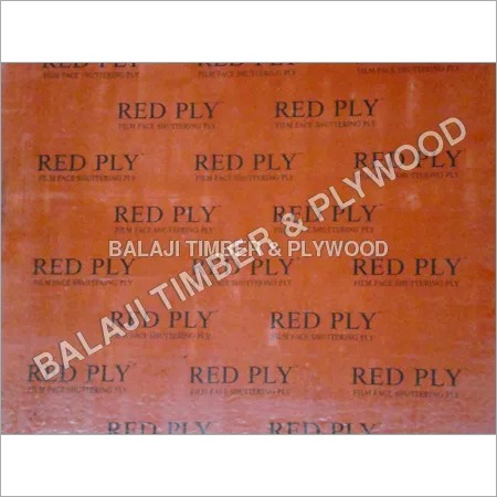 Shuttering Ply (Red Ply)