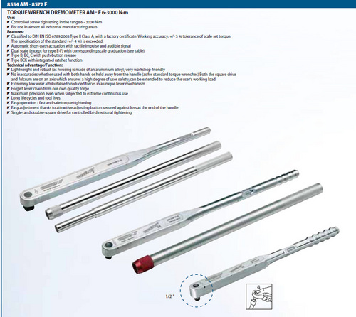 Gedore Torque Wrench