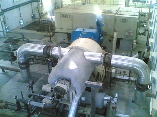 Steam Turbine Erection