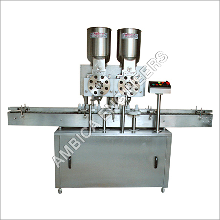Double Wheel Powder Filling Machine