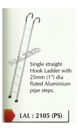 Aluminum Straight Hook Ladder