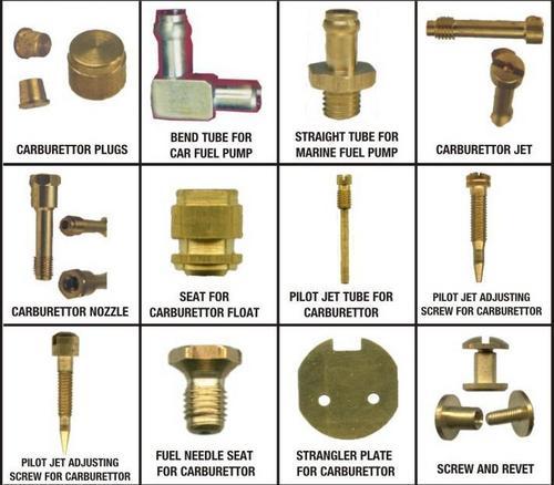 Brass Carburetor Components