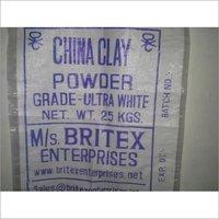 CHINA CLAY WHITE POWDER