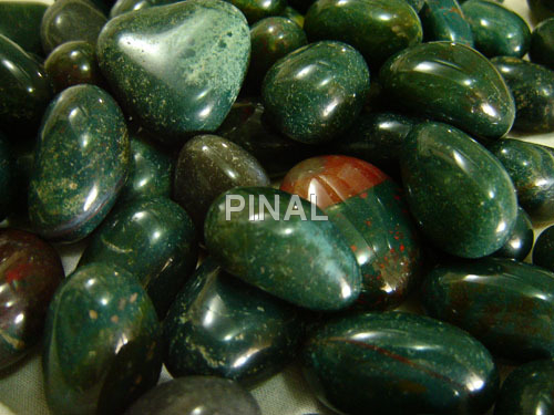 Green Colour Pebbles
