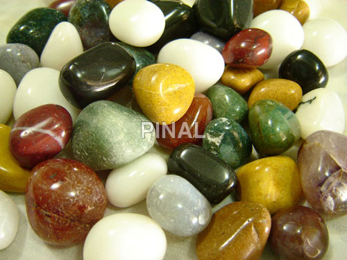 Mixed Colour Pebbles