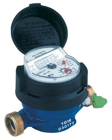 Single Jet Turbine Water Meter