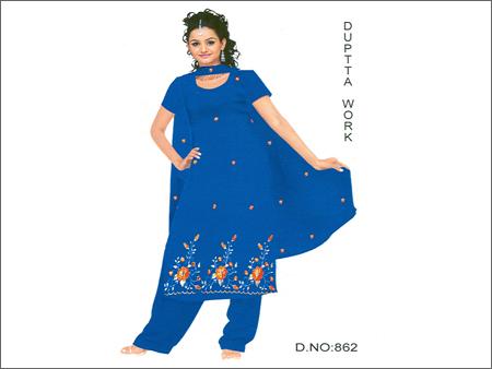 Ladies Suits Dress Material