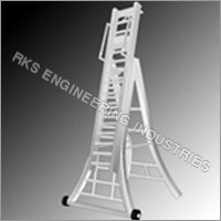 Aluminium Self Supporting Telescopic Ladder