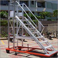Commercial aluminium trolley