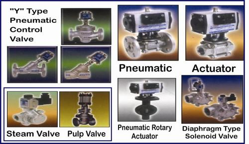 Pnuematic Valves Actuators