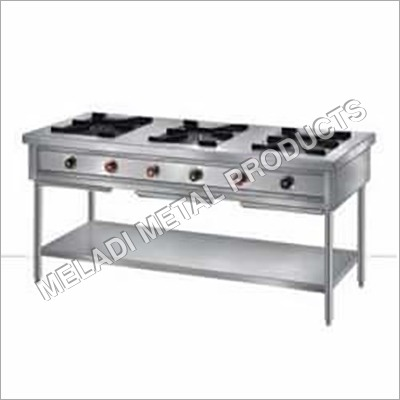 Three Burner Steel Gas Stove