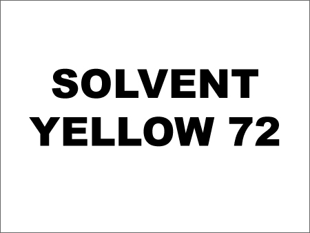 Solvent Dyes Yellow
