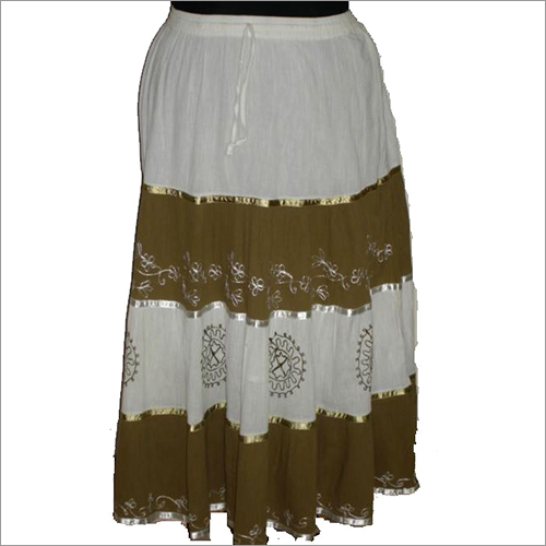 Cotton Ladies Skirt