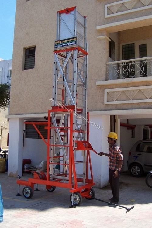 Hydraulic Ladders Trolley