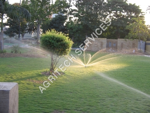 Irrigation system at Hotel