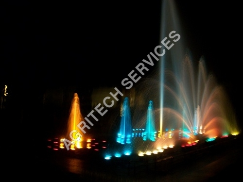 Musical And Dancing Fountain