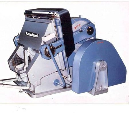 Platen Punching, Creasing & Embossing Machine
