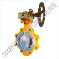 FEP Lined Butterfly Valve