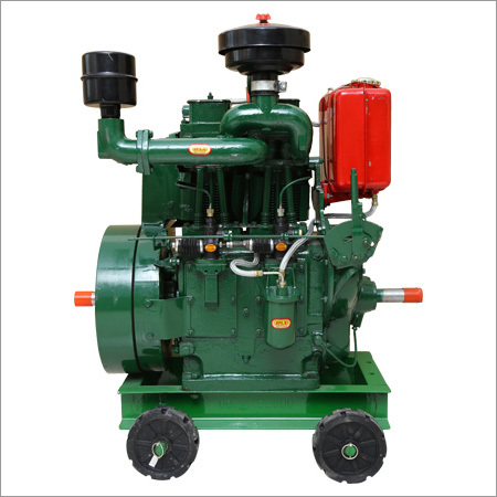 Double Cylinder Engine & Pumping Set