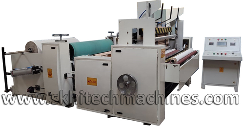 Toilet Roll Making Machine & Log Saw