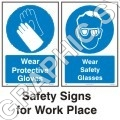 Workers Safety Signs
