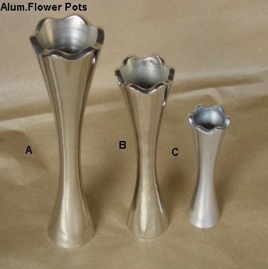 Aluminium Flower Pots
