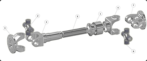 Unique Cardan Shaft Couplings