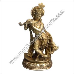 Antique Krishna Statue