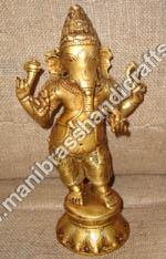 Metal Ganesha Statue