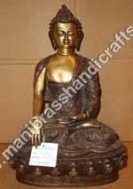 Buddha Shakyamuni Carved Statue