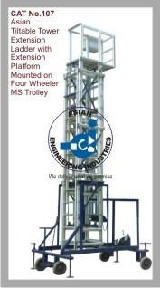 Asian Tiltable Tower Extension Ladder