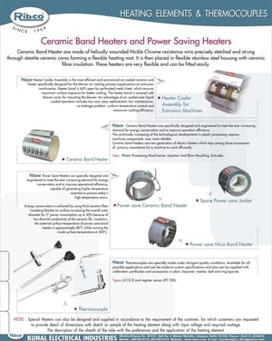 Thermocouples  .