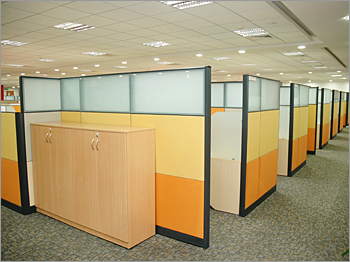 Modular partitions for workarea