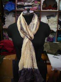 Tie Dye Silk Scarf