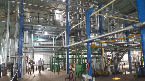 Continuous Chemical Refining Plant
