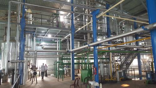 Continuous Chemical Refining Unit