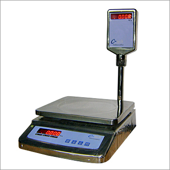 Table Top Scale Steel Body with Pole