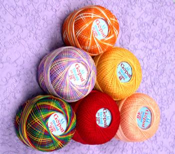 Decorative Mercerized Embroidery Thread