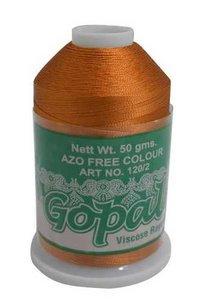Gopal Viscose Embroidery Thread (Silk Thread/Y-cone)