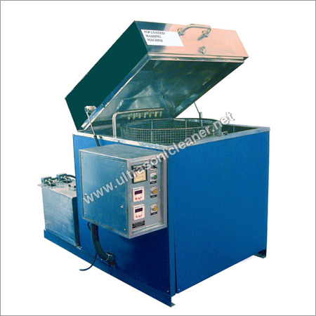 Top Loading Industrial Component Washing Machine
