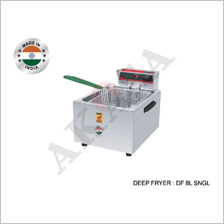 Stainless Steel Akasa Indian Electric Deep Fryer 8Ltr.