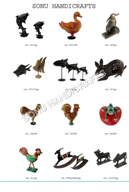 Iron Figures & Decorative Items
