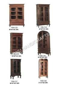 Curio Almirah,Cupboard Cabinet,Sheesham Cabinet