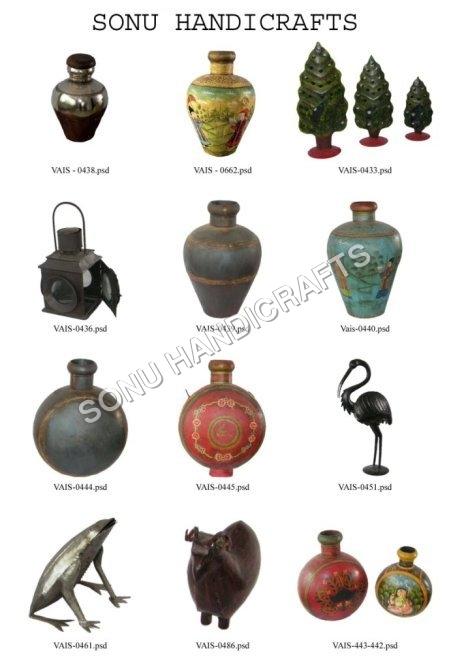 Printed Vases, Lamps, Animal Figurines